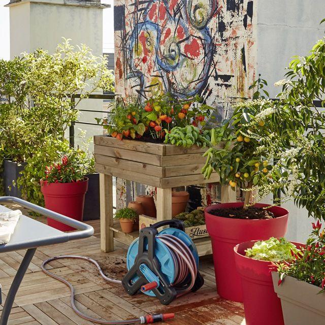 48 les meilleures images concernant jardin am nagement ext rieur sur pinterest lugano for Plantes pour terrasse ensoleillee
