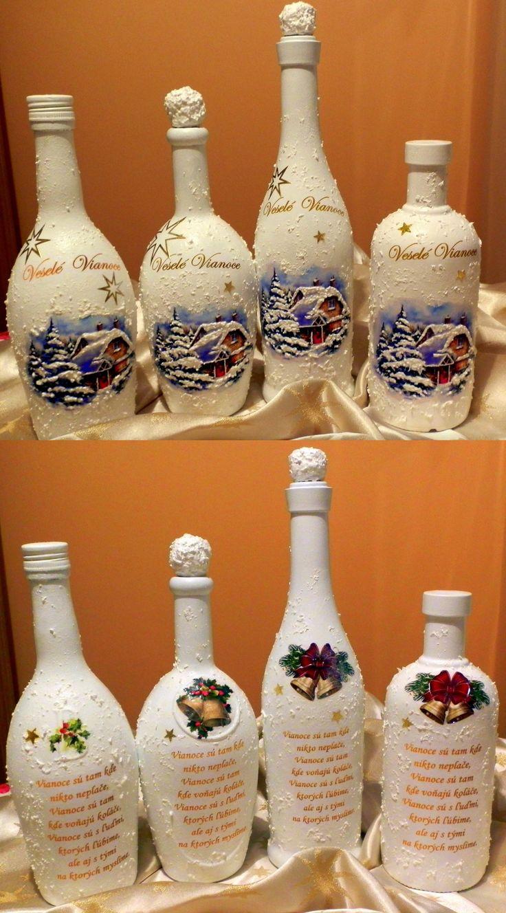Vianočné fľaše