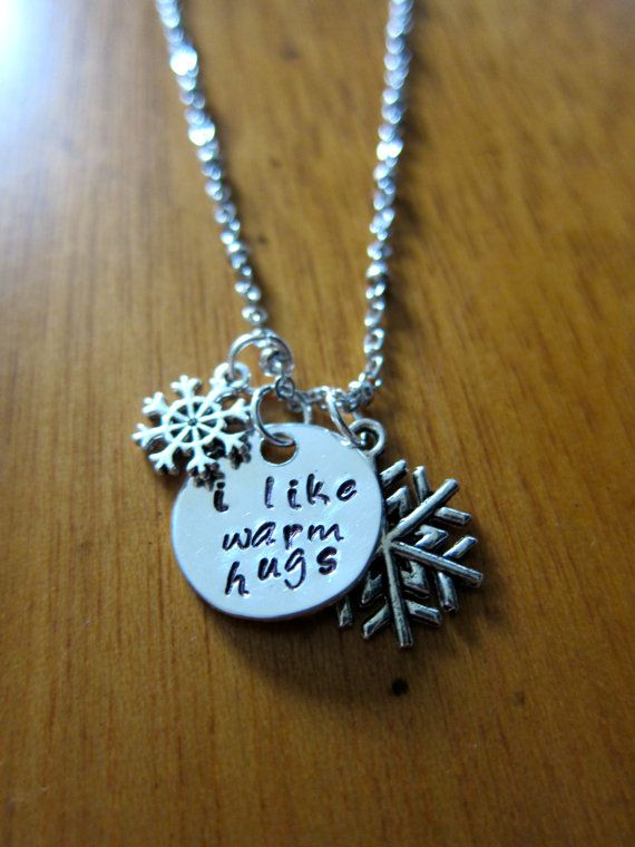 """Disney's Frozen Inspired Elsa's friend Olaf """"I like warm hugs"""" by WithLoveFromOC, $20.00 & free shipping."""