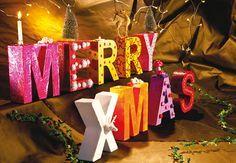 Eine individuelle Weihnachtsdeko mit unseren DIY Buchstaben.