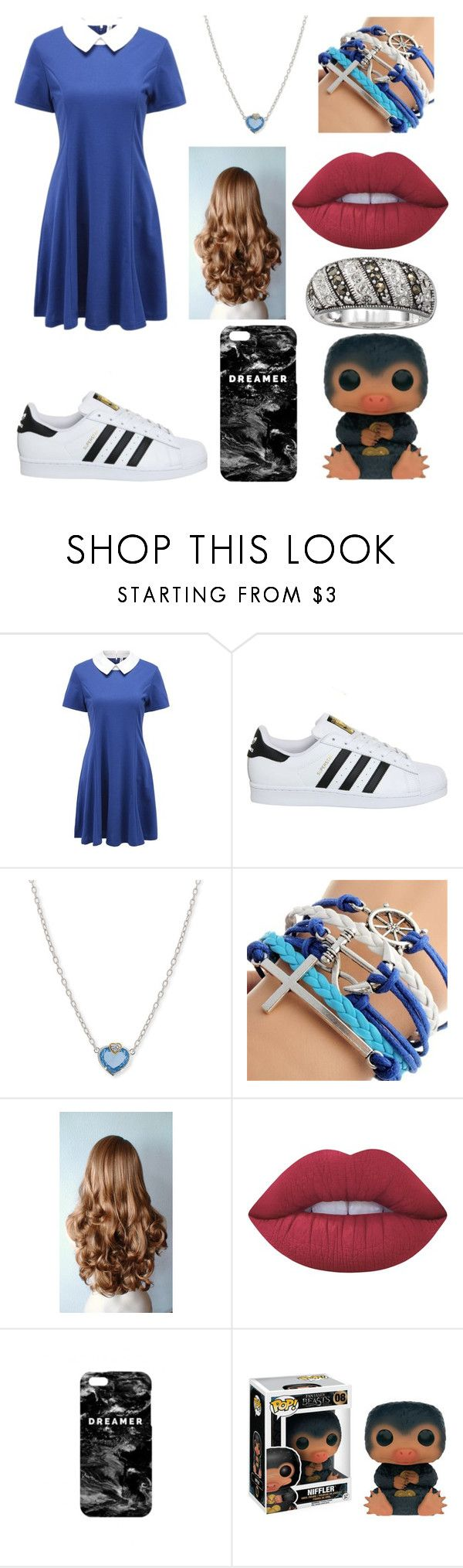 """""""#759"""" by lucy-smith-2 ❤ liked on Polyvore featuring adidas, Judith Ripka, Lime Crime and Mr. Gugu & Miss Go"""