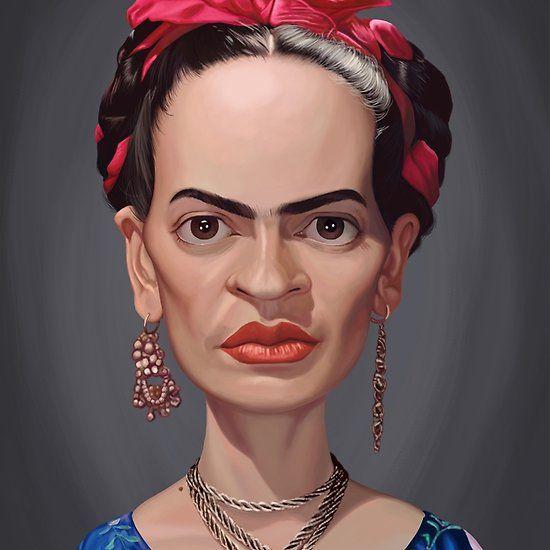 Frida Kahlo art   decor   wall art   inspiration   caricature   home decor   idea   humor   gifts