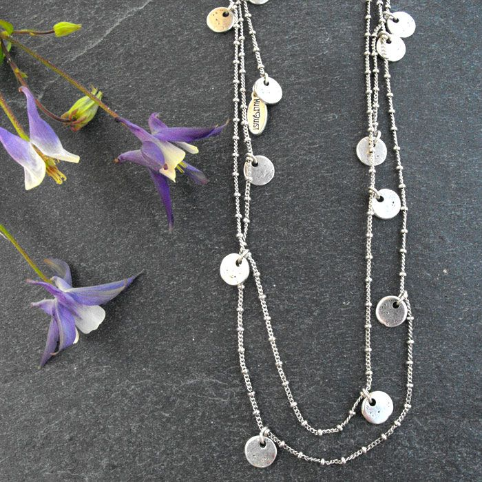 Hultquist Classic Silver Plated Coin Tie Long Lariat Necklace|lizzielane.co.uk. http://www.lizzielane.co.uk/shop/hultquist-classic-silver-plated-coin-tie-necklace £28