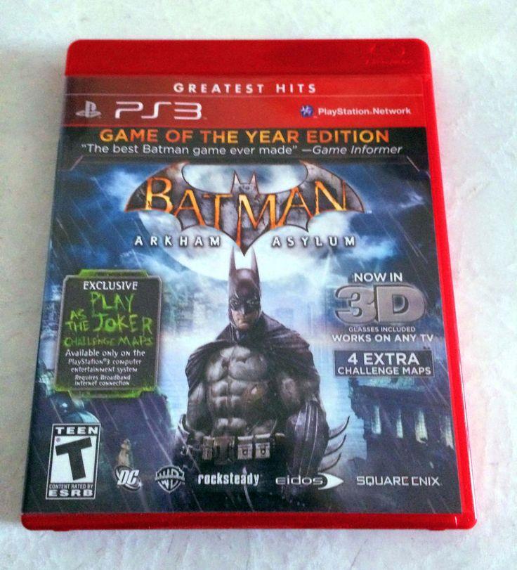 BATMAN: ARKHAM ASYLUM  (GOTY EDITION) for Playstation 3
