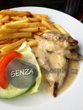 Pork Tenderloin with Gorgonzola cheese sauce - Vepřová panenka se sýrovou omáčkou z gorgonzoly