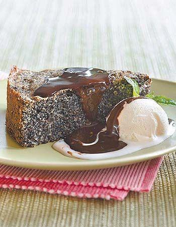 עוגת פרג ללא קמח