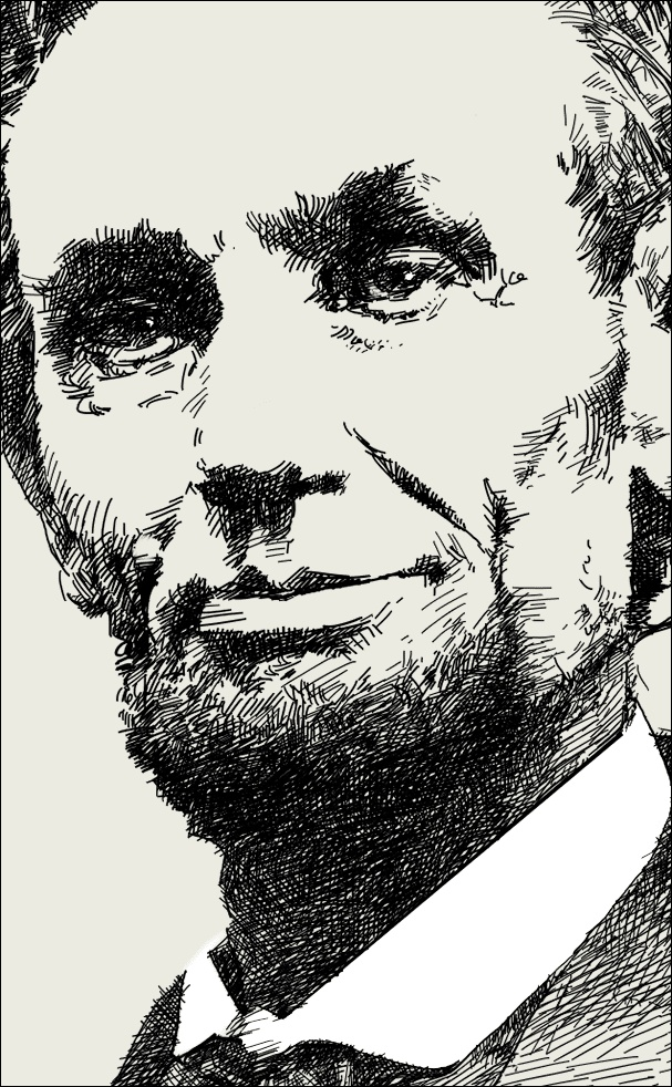 President-Abraham-Lincoln (February 12, 1809 – April 15, 1865) 16th President, assassination in April 1865. He led U,S. through its greatest constitutional, military, and moral crisis—the American Civil War—preserving the Union, abolishing slavery, strengthening the national government and modernizing the economy. He centered on the Emancipation Proclamation in 1863,  helping push through Congress the Thirteenth Amendment that was to permanently outlawed slavery. Or did he?  Source…