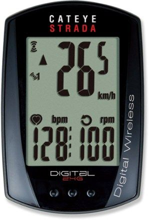 CatEye Strada CC-RD430DW Heart Rate Monitor Bike Computer