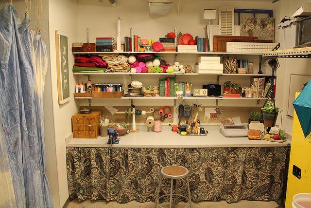 craft area