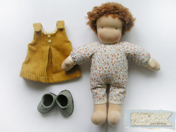 Mirka Waldorf style doll designed by Lalka Szmaciana