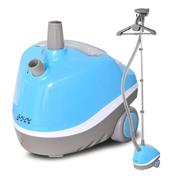 160.39$  Watch here - http://ali7bl.worldwells.pw/go.php?t=32695536488 - SALAV GS10-DJ Garment Steamers 1500W 220V 1.35L Home Steamer Blue+Gray