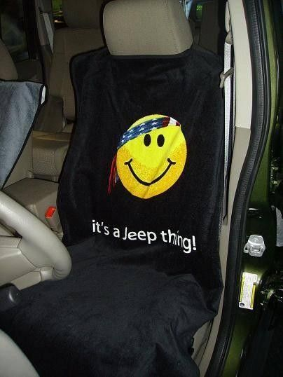 Jeep - Smiley Face