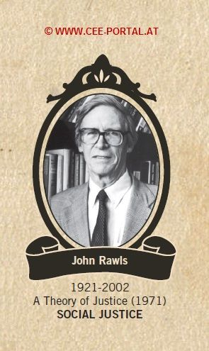 John Rawls 1921-2002 A Theory of Justice (1971) SOCIAL JUSTICE