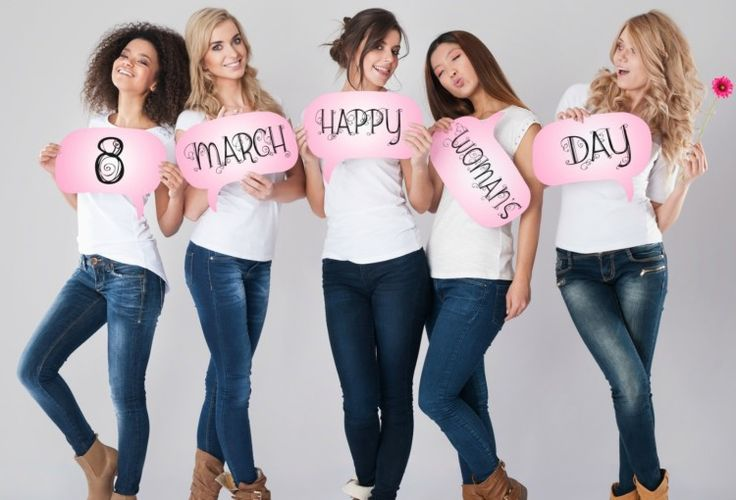 Let's celebrate International Women's Day 2015 for the whole month of March