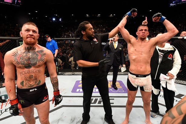 Tweet  Conor McGregor vs. Nate Diaz 2 Is Official Las Vegas, NV (March 30th, 2016)– The anticipated rematch between Conor McGregor and Nate Diaz is set to headline UFC 200. The fight, which was first reported by MMA Fighting's Ariel Helwani on March 18, was made official during a UFC Tonight broadcast on Wednesday …