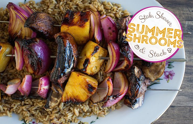 From teriyaki portabella kabobs to slow-cooker bbq mushrooms, your backyard barbecues just got a whole lot tastier thanks to these summer mushroom recipes.