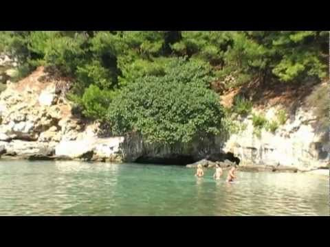 Thassos guide - Arsanas Beach (Afroditi) - YouTube
