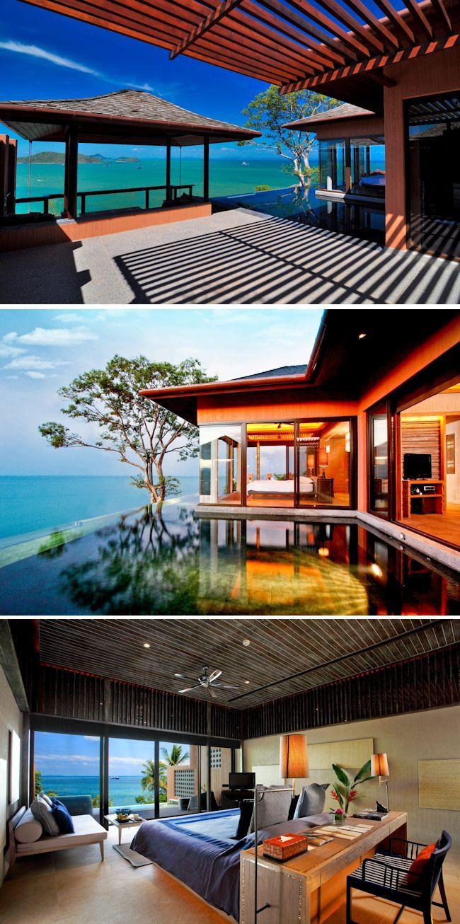 Honeymoon Hotels with Private Pools; Sri Panwa, Phuket Thailand