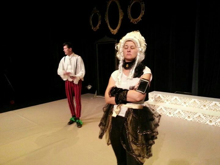 The Misanthrope - by Moliere. Alceste and Celimene. Universalteatern 2013