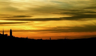 Gothenburg Sunset Skyline