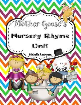 Mother Goose's Nursery Rhyme Unit