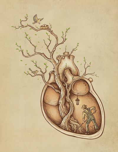 """Tree of Life"" Art Print by Enkel Dika on Society6."