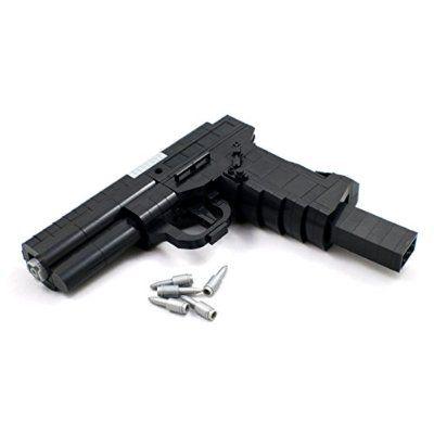 Semi-Automatic Service Pistol - Military Firearm Building Block Gun