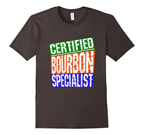 Men's Bourbon Alcohol Specialist Funny Humorous Drinking…
