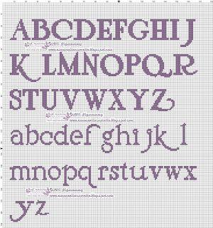 amorevitacrocette: un post carico di.......Alfabeti!