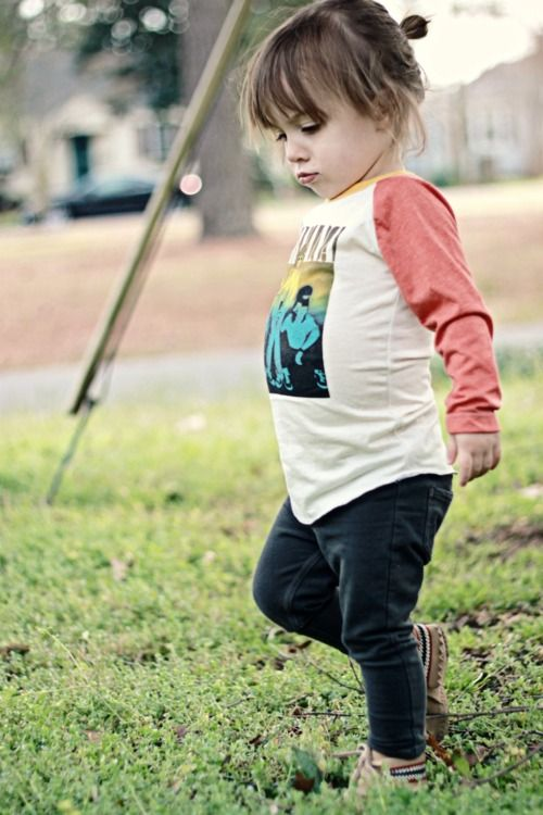 Everleigh is the cutest and this boho hippie outfit is soo adorable!!: Babies, Baby Aubree, Baseball Tee, Dearbaby Blog, Boho Baby, Big Girl, Baby Love S, Baby Hippy, Baby Nirvana