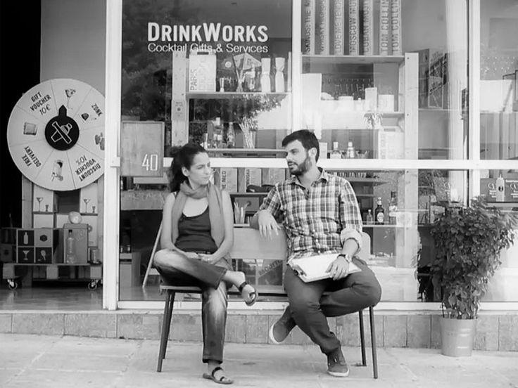 Apostolos Georgopoulos & Athina Karatzogianni, DrinkWorks / Απόστολος Γεωργόπουλος & Αθηνά Καρατζογιάννη, DrinkWorks #lovegreece - http://www.lovegreece.com/people/apostolos-georgopoulos-athina-karatzogianni