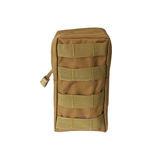 Tactical Pouches, Newnet Multi-function MOLLE Medical First Aid Pouch Waist Bag (Coyote) * Read more  at the image link.