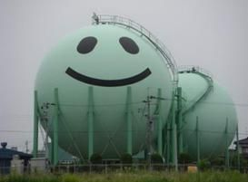 Who knew storage tanks could be so happy?!