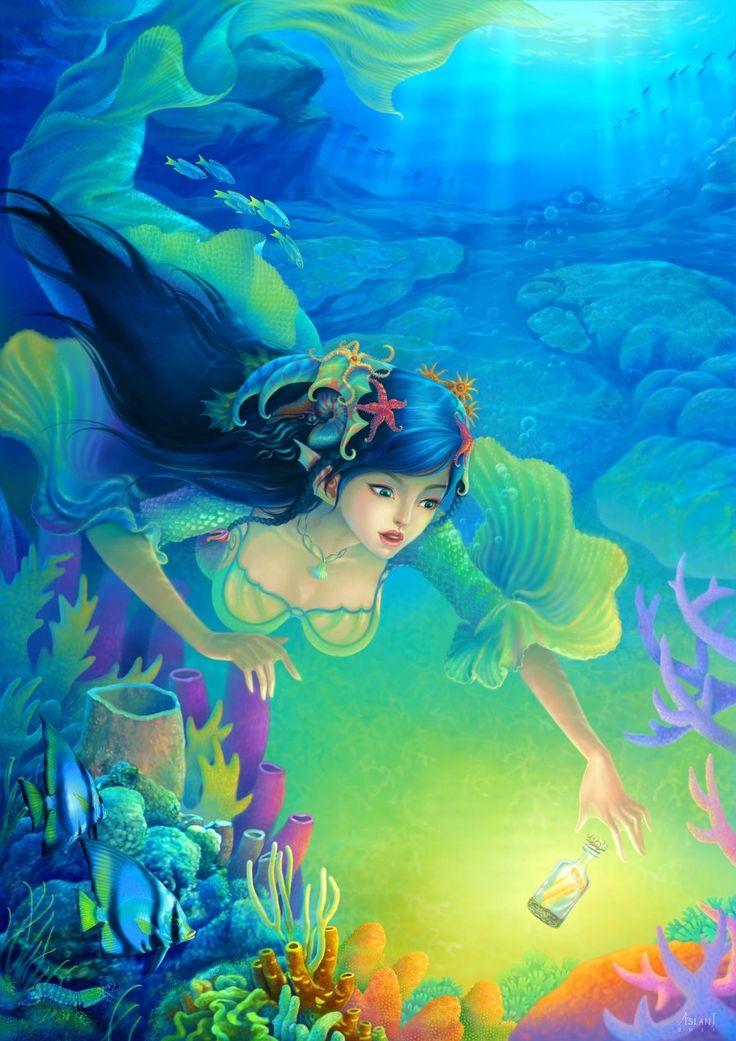 Картинки русалочка фэнтези