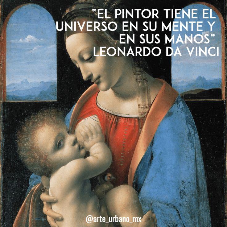"""Leonardo da Vinci fue un polímata florentino del Renacimiento italiano.  """"El pintor tiene el universo en su mente y en sus manos"""" Síguenos  Instagram: https://www.instagram.com/arte_urbano_mx  Facebook: https://www.facebook.com/arteurbanomx"""