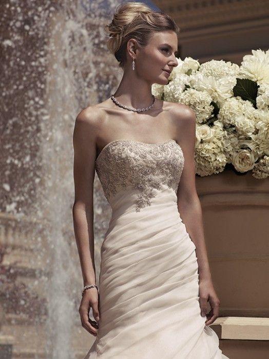 Casablanca Bridal, Style 2107, Decorated with Swarovski Crystals, rhinestones, and sequins.  #Swarovskicrystals #Casablanca #Bridal #Wedding #Gown #LavenderBridalSalon