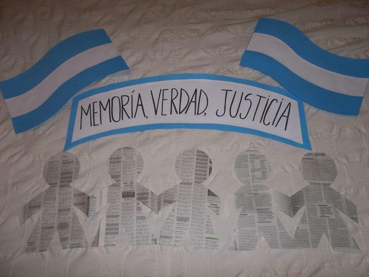 dia de la memoria la verdad y la justicia