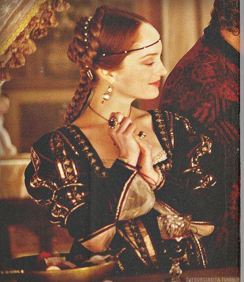 Closet of the Borgia Ladies, Gulia Farnese