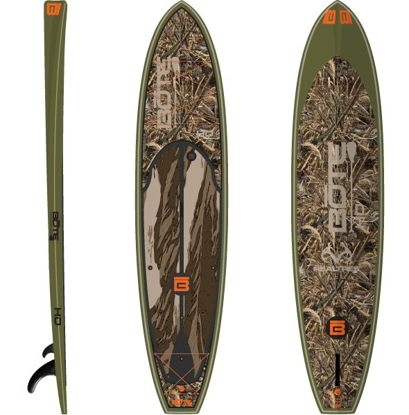BOTE HD Real Tree Special Edition Fishing Paddle Board would be awesome to try waterfowl hunting from this!