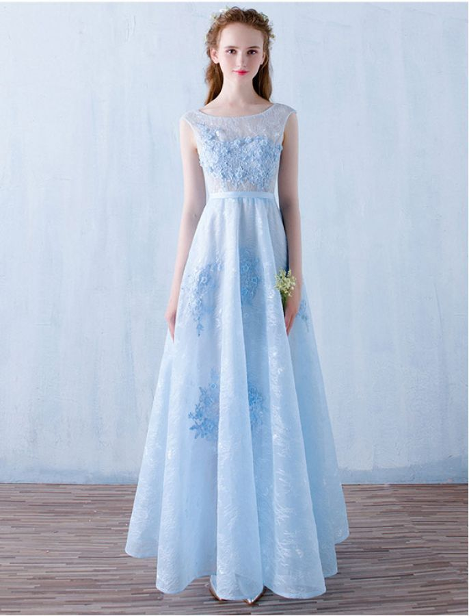 Charming Vintage Inspired Lace Prom Formal Dress