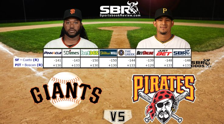 The Pirates upset the Giants in their series opener on Monday, stopping two streaks in the process. The MLB odds like San Francisco to bounce right back from that loss tonight. http://www.sportsbookreview.com/mlb-baseball/free-picks/mlb-picks-betting-giants-vs-pirates-four-game-series-a-73156/#utm_sguid=165879,2b8298be-4146-df71-415c-ccbdeff84f3a