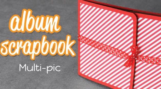 Multi-pic: mini Álbum Scrapbook para San Valentin
