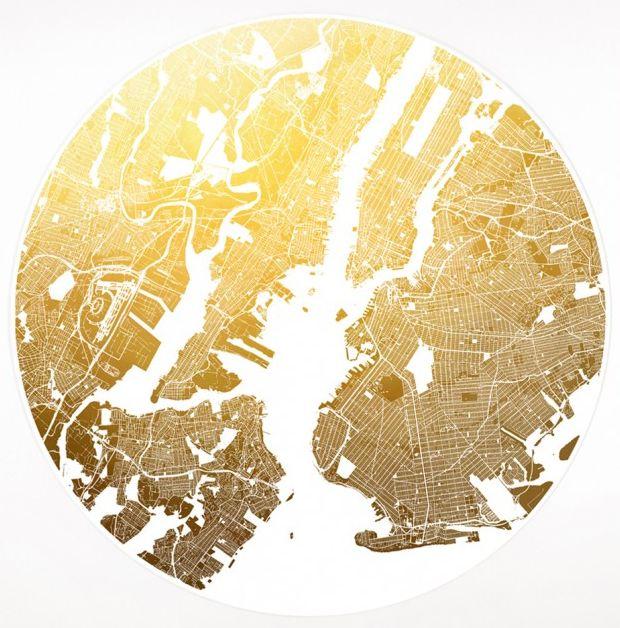 Mappa Mundi series of maps by Ewan David Eason.