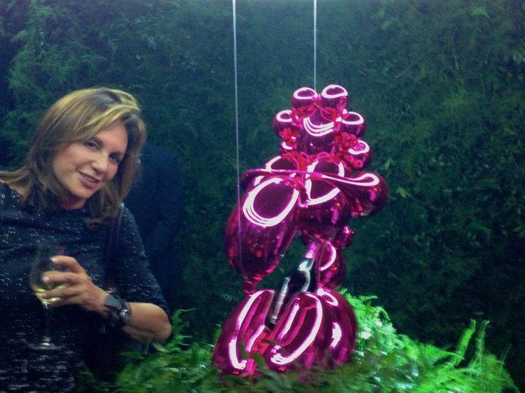 Christy Ferer, Vidicom CEO, views Ai Weiwei\u0027s work at Louisiana MOMA - ferer