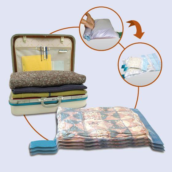 Storage and Travel Vacuum Bags