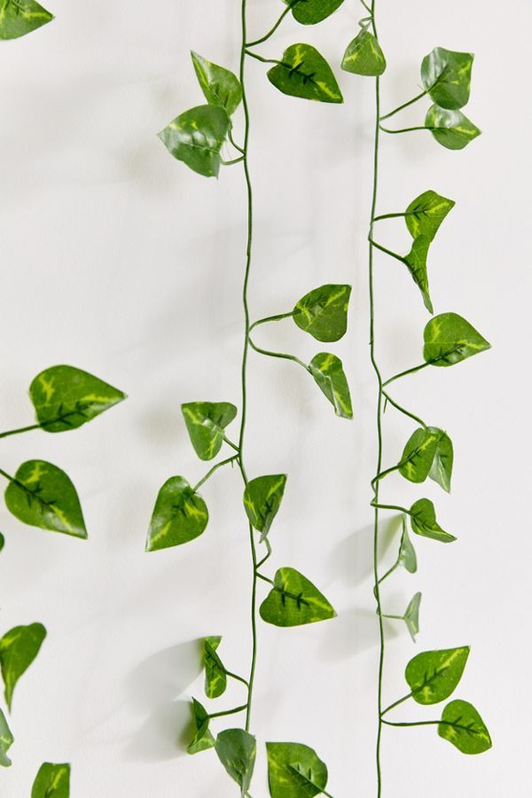 Faux Hanging Vine Garland Hanging Vines Plant Aesthetic Leaf Decor