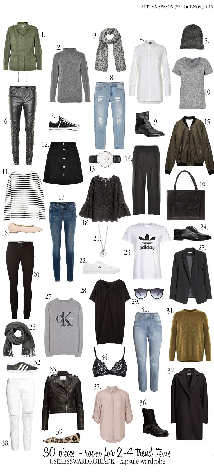 Fall Capsule Wardrobe From H M: Best 25+ Fall Capsule Ideas On Pinterest