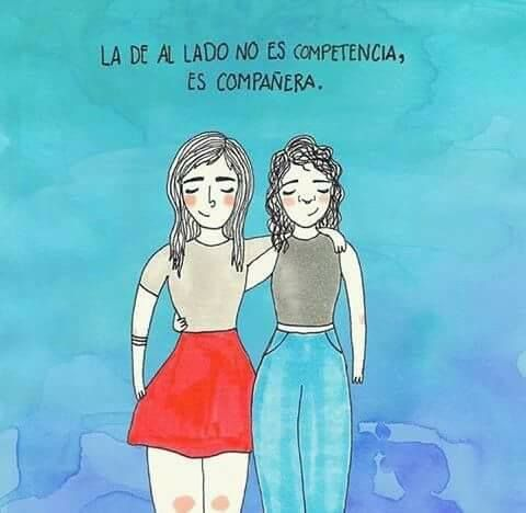 #Sororidad #FeminismoResponsable