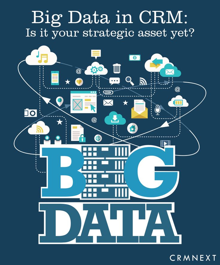 Digital CRM Solutions: #Bigdata in CRM: Is It Your Strategic http://crmsolutions.crmnext.com/2016/04/big-data-in-crm-is-it-your-strategic.htmlAsset Yet?