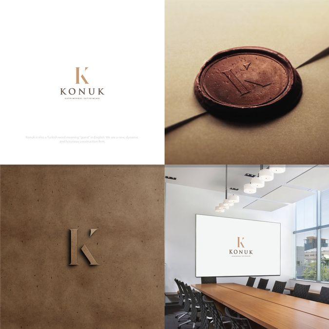 Design an elegant logo for a new construction firm by ♛ CreativeKing ♛